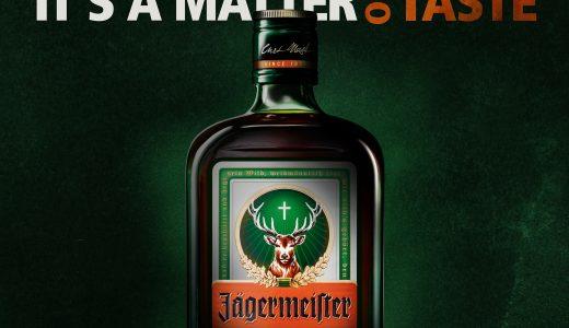Jägermeister it's a matter of taste
