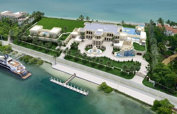 Dit huis kost bijna 150 miljoen euro en is daarmee het duurste huis van amerika fhm - Ingang van het hedendaagse huis ...