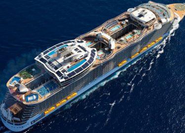 Op het grootse schip ter wereld heb je gps nodig om je kamer terug
