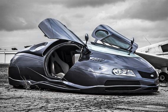 Dude bouwt Chevy om tot futuristische auto - FHM