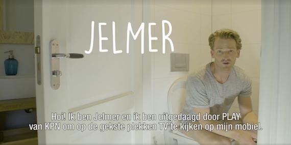 Jelmer de boer krijgt challenge om de de meest bizarre for Jelmer de boer