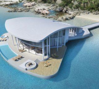 Dit uitzonderlijk elegante huis is een eigen schiereiland fhm - Mand een machine huis ter wereld ...