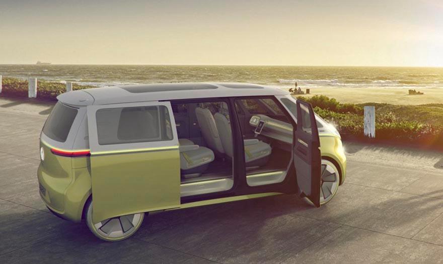 Volkswagen Busje Krijgt Futuristische Make Over Fhm