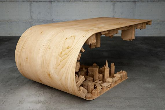 Cypriotische designer bouwt coolste koffietafel ever fhm - Designer koffietafel verkoop ...