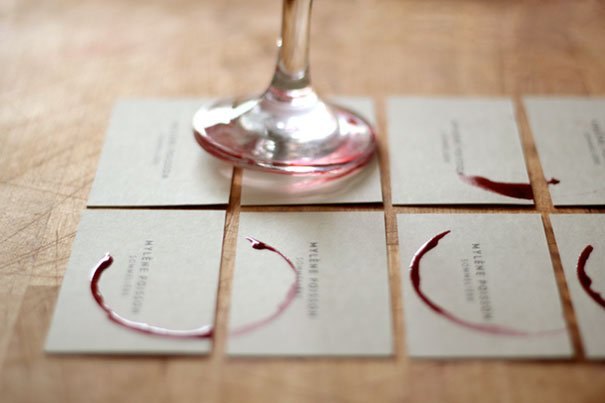 De wijnboer maakt gebruik van je zintuigen