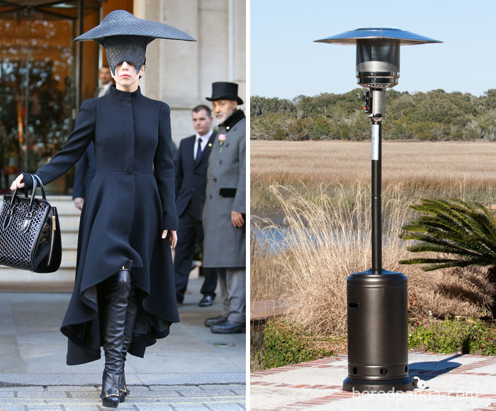 Lady Gaga of een heater?
