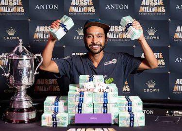 Shurane Vijayaram poker