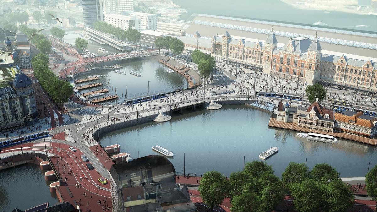 Amsterdam Centraal verbouwing