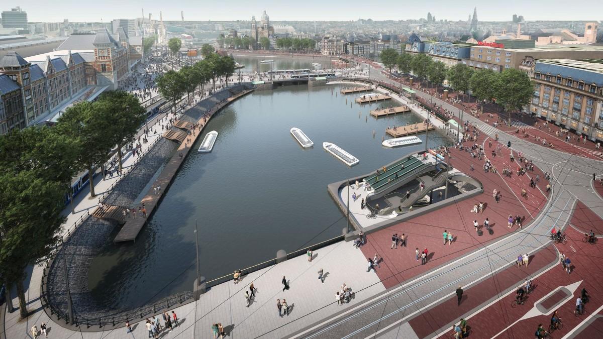 De Entree Amsterdam Centraal