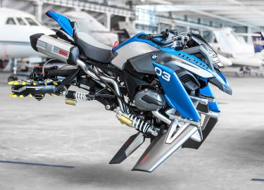 BMW flying motorcycle