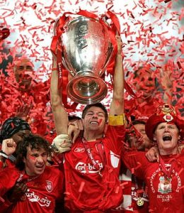 Gerrard Champions League liverpool