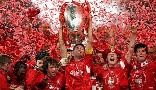 Gerrard Champions League liverpool