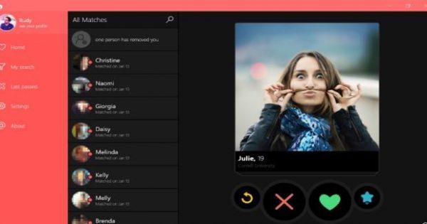 Je kunt straks tinderen op je desktop fhm - Hoe je je desktop kunt verfraaien ...