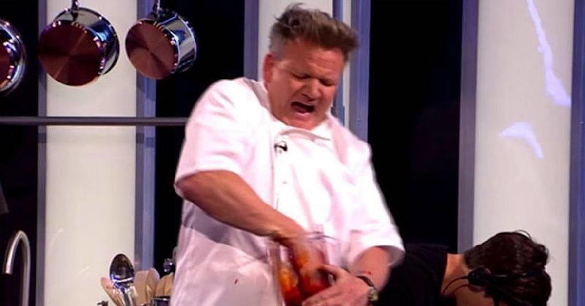 Gordon Ramsay verminkt zijn hand in een blender - FHM | 1200 x 627 jpeg 63kB