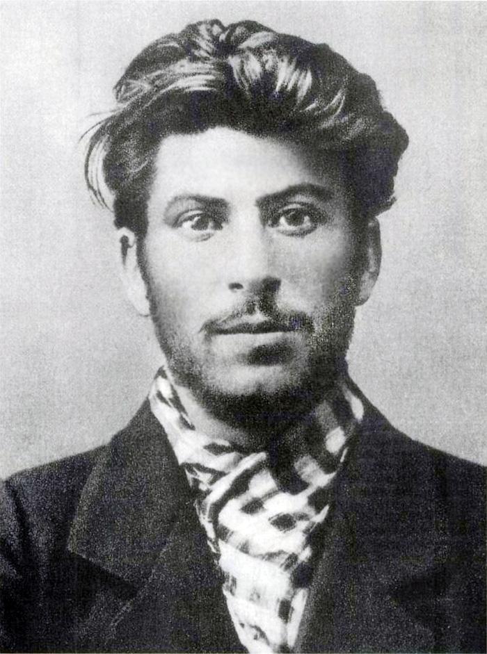 Joseph Stalin als jonge man in 1902