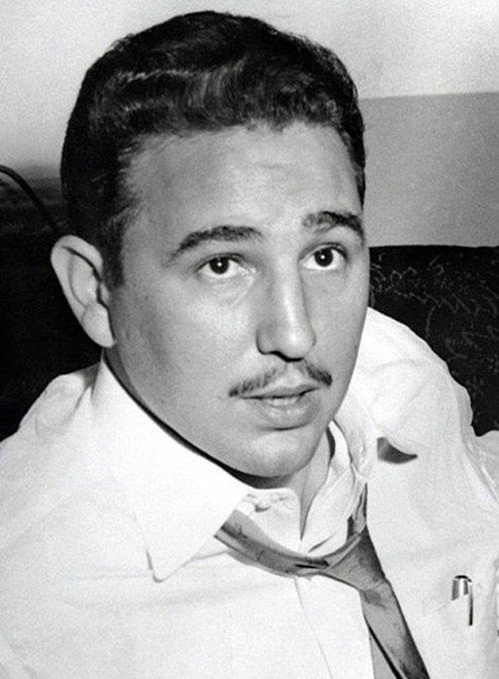 Fidel Castro in New York, 1955