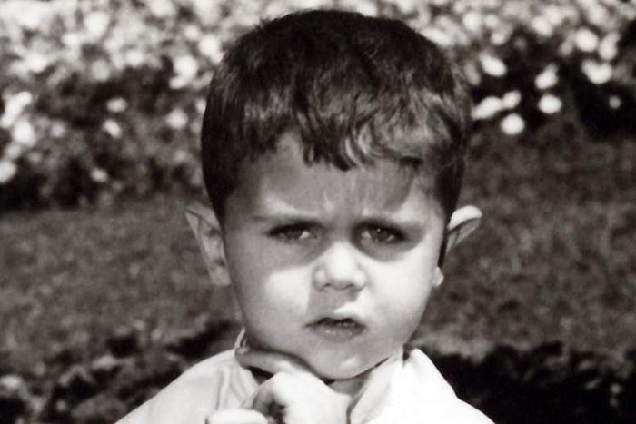 Bashar al-Assad als kind. Wie? De huidige president van Syrië