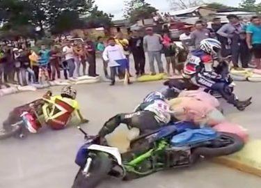 FHM-Scooters Spektakel