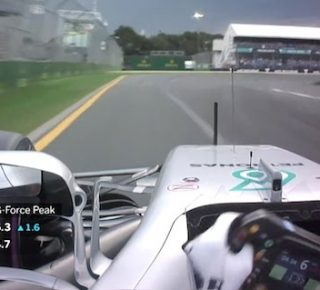 Lewis Hamilton G-force