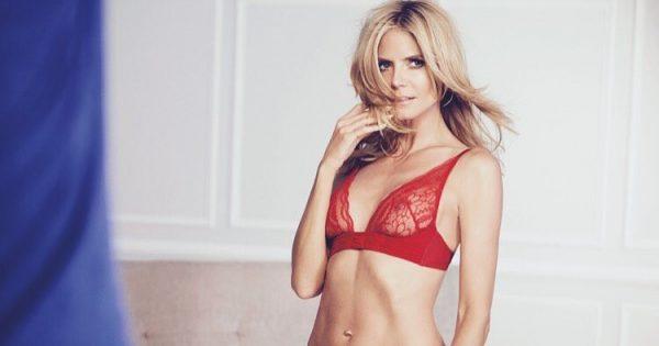 Heidi Klum in lingerie is nog steeds Playboy Cover-waardig