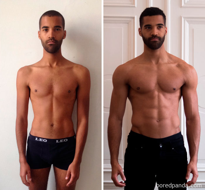 4.5 month body transformation - JuMa Twins