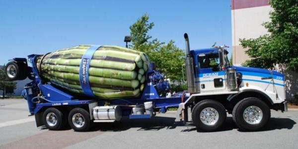 Cementwagen camouflage