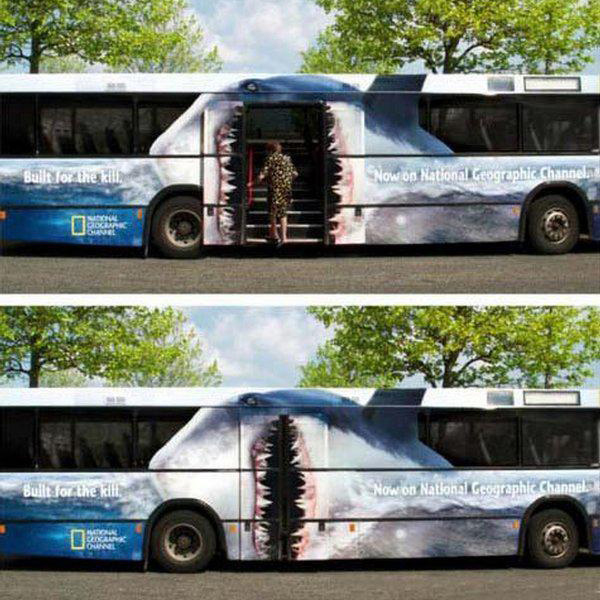National Geographic Bus