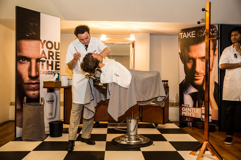 Er was een Barbershop van TABAC