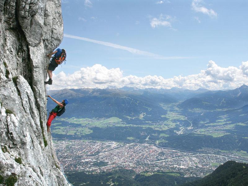 Klettersteig innsbruck