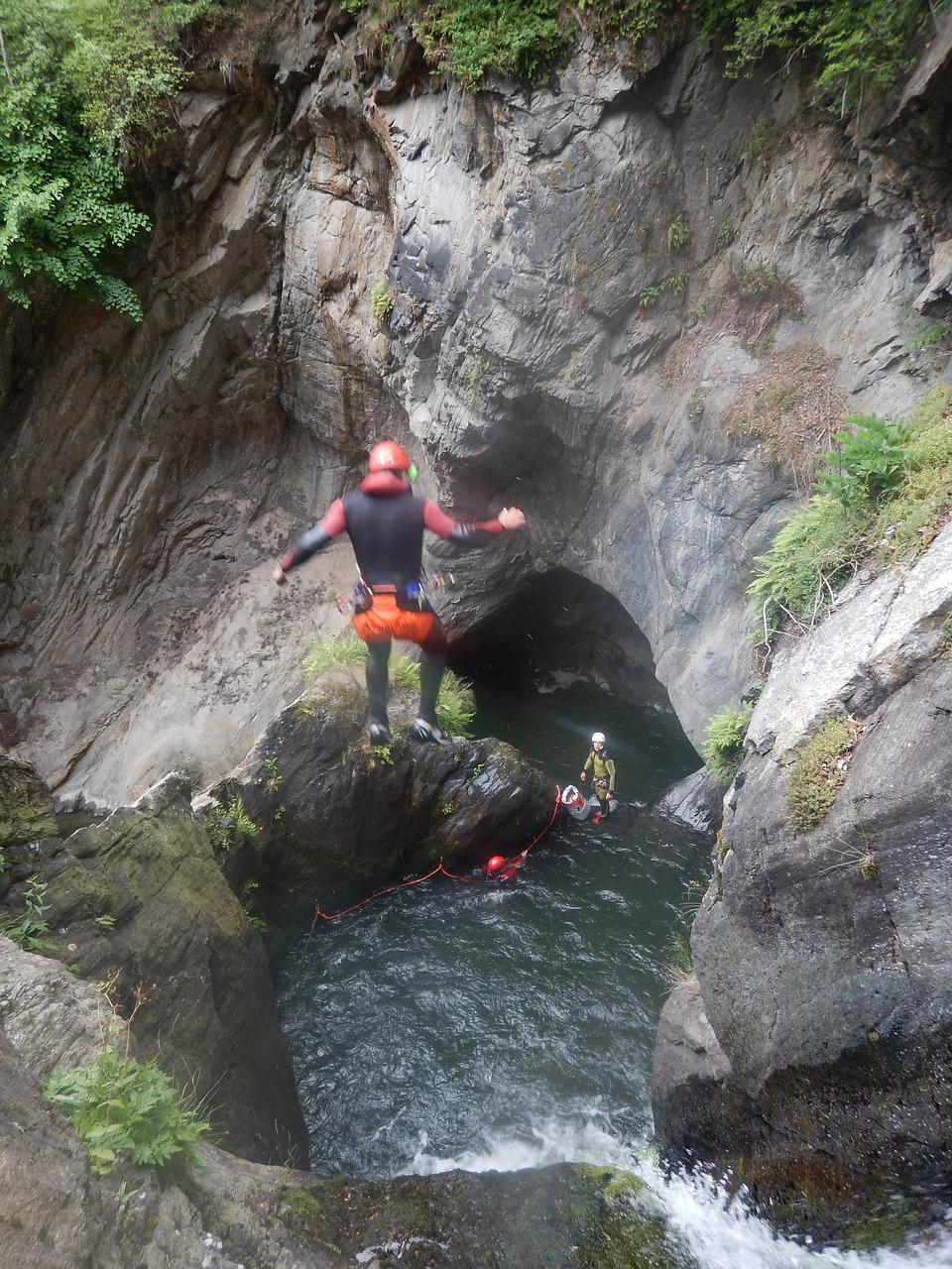canyoning-