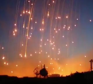 raqqa bombardement
