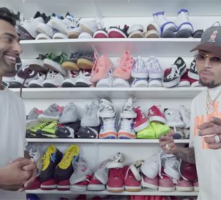 FHM-Chris Brown Sneakers