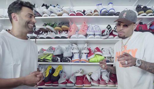 FHM-Chris Brown Sneakers