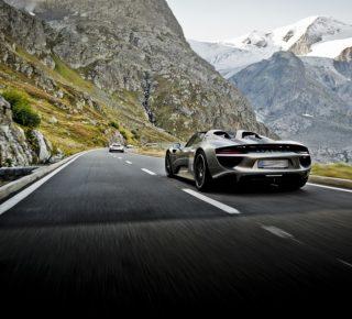FHM-Porsche 918 Spyder Alpen