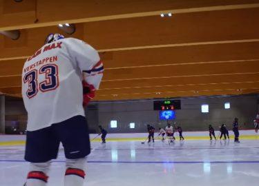 FHM-Max Verstappen ijshockey