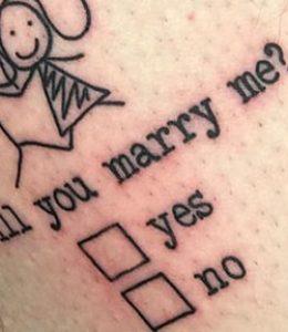 Tattoo huwelijk