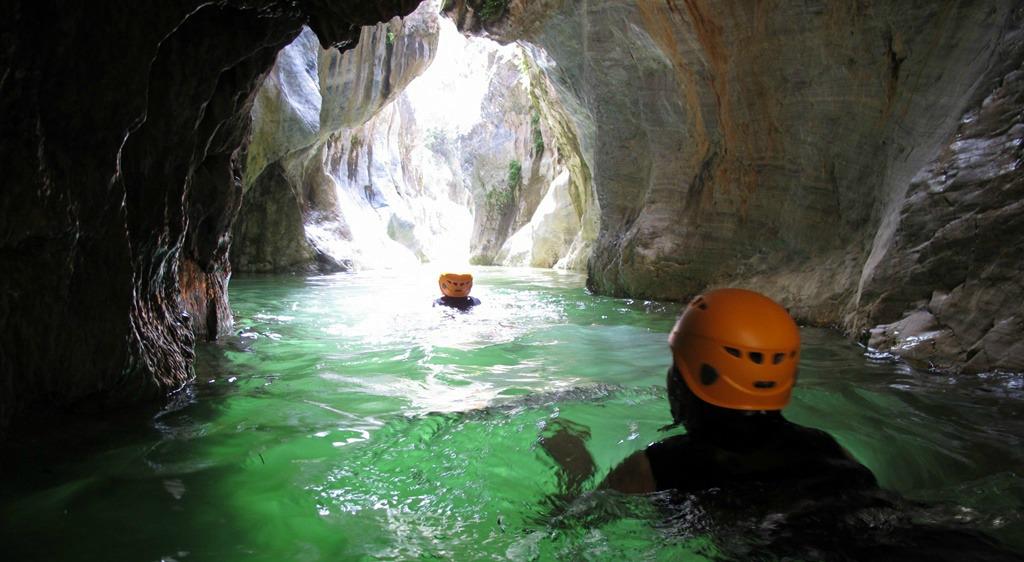 canyoning spanje