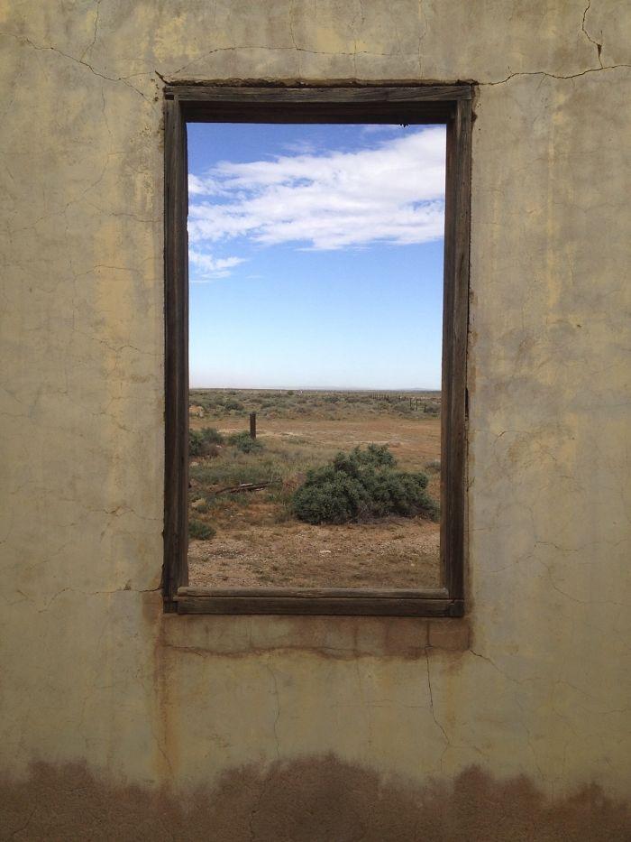 Schilderij of raam?