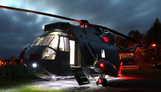 FHM-Helikopter overnachten