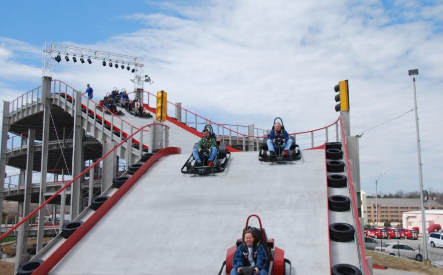 FHM-Real Life Mario Kartbaan
