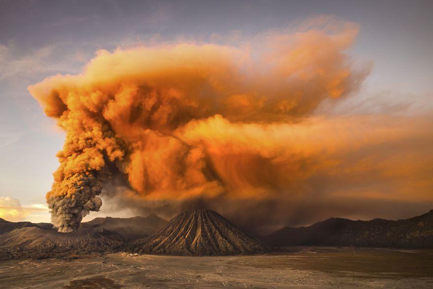Mt. Bromo, East Java, Indonesia.