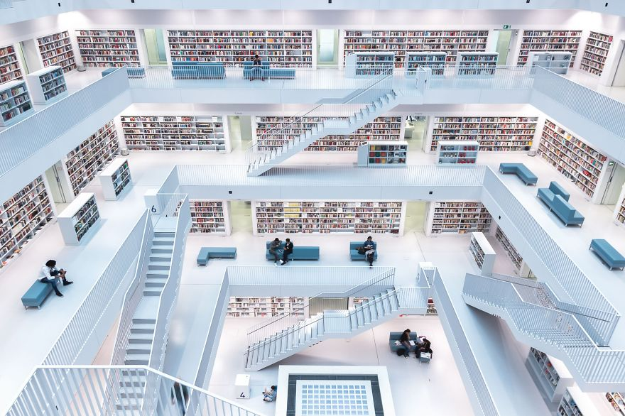 Levels Of Reading, Stuttgart, Germany.