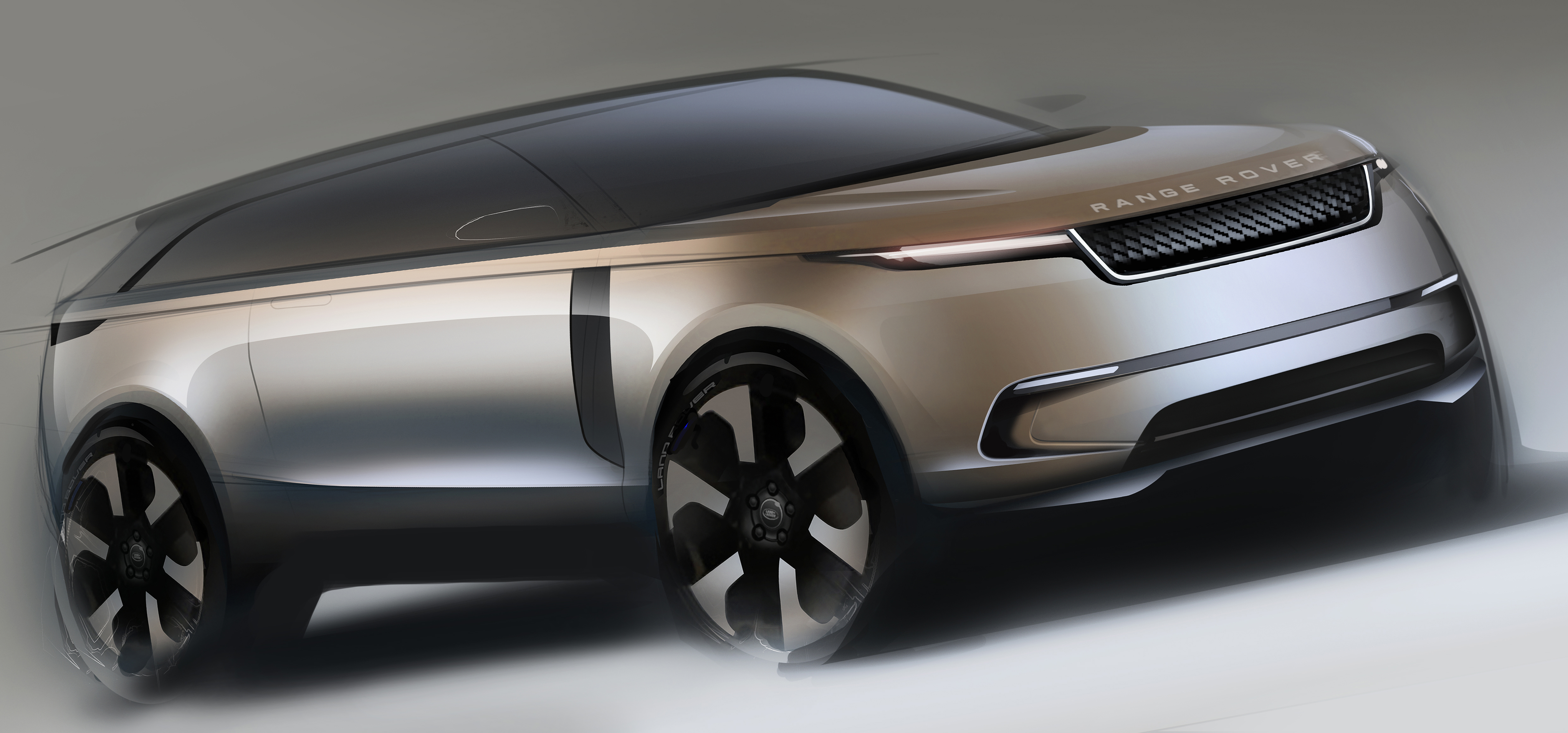 Sketch Range Rover Velar