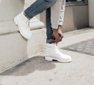 Timberland Ghost White 6-inch