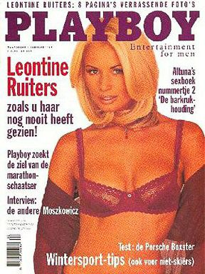 Leontine Ruiters Playboy