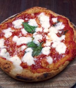 gefrituurde pizza