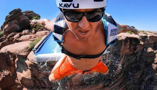 FHM waterslide base jump