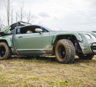 FHM Bentley Continental GT Rally Edition