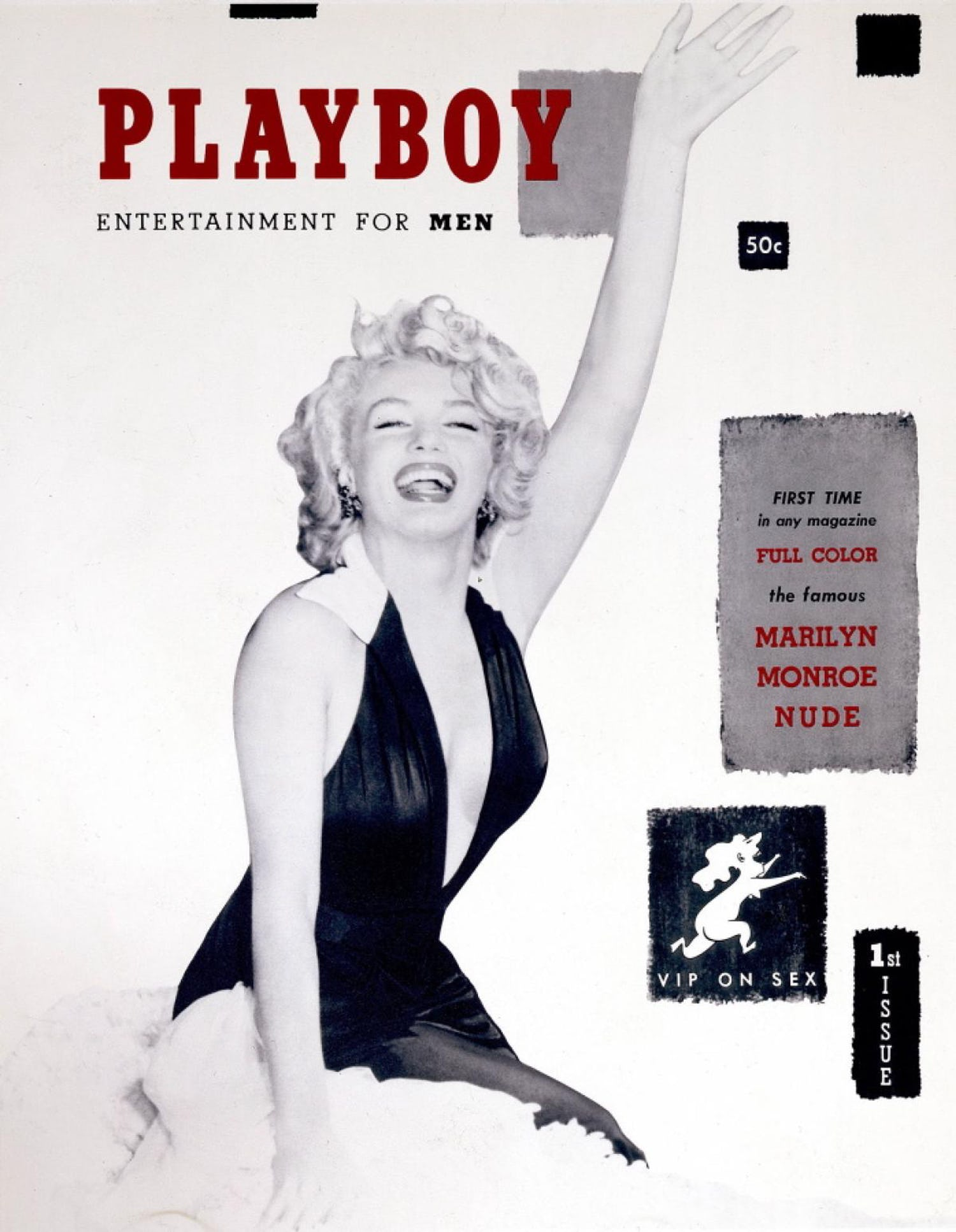 Playboy cover Marilyn Monroe
