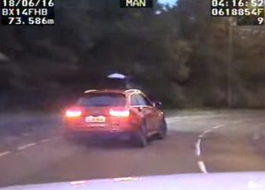 FHM Audi RS6 achtervolgd door de politie